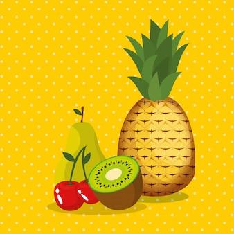 新鮮な果物健康食品