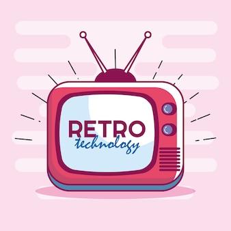テレビレトロテクノロジーのアイコン