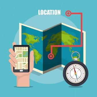 地理的位置システム