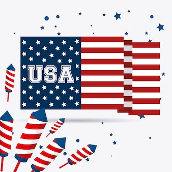 アメリカ合衆国のデザイン。