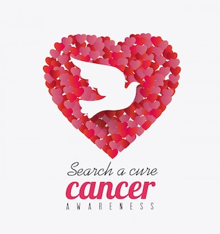 乳がんキャンペーンのメッセージに対して