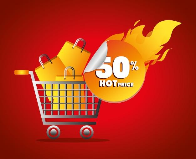 Шоппинг горячие цены на тему