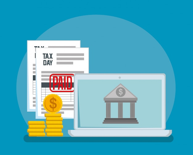 コインと銀行のサービス税レポート