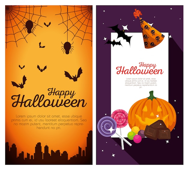 Счастливого хэллоуина баннеры