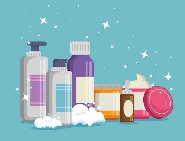 Набор продуктов кремов для лица