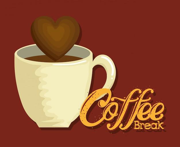 おいしいコーヒーブレークラベル