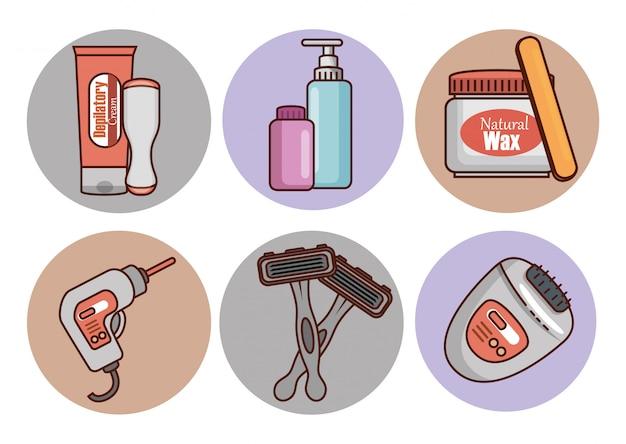 Набор для удаления волос