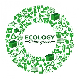 Экологическая этикетка с возобновляемым элементом для защиты