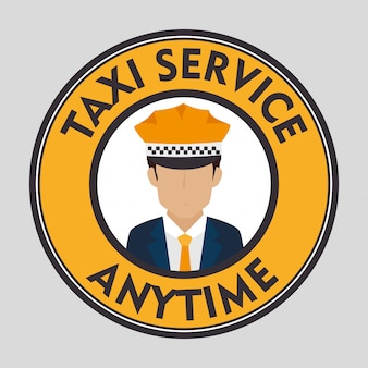 タクシーの顧客サービス