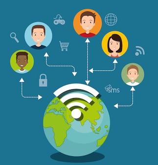 Социальная сеть медиа состав