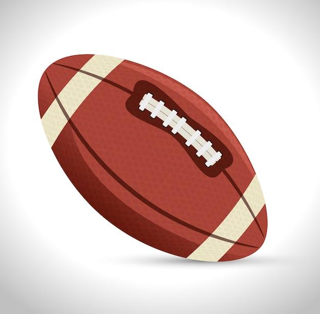 Американский футбол спортивный значок