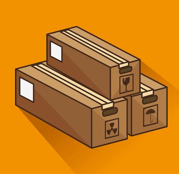 Коробка картонная упаковка доставка