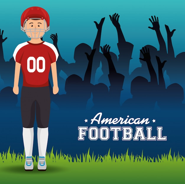 Американский футбол спорт