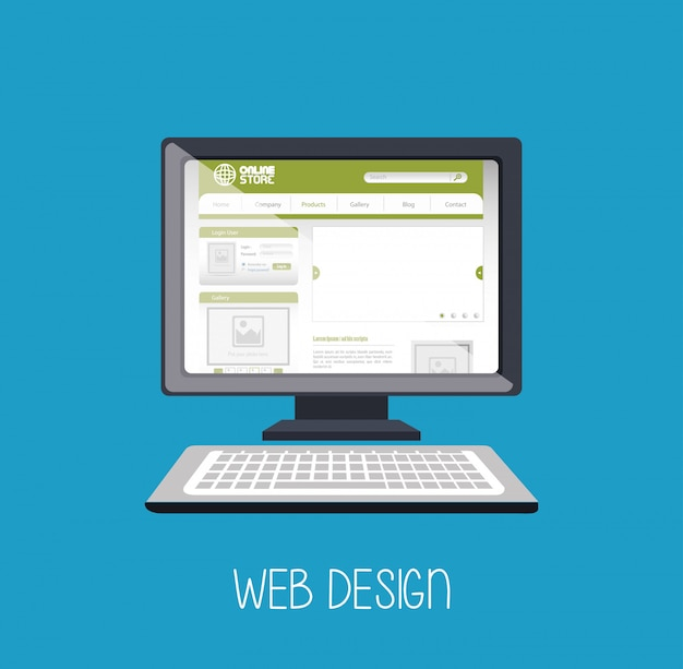 Веб дизайн интернет медиа