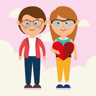 Любовь и день святого валентина