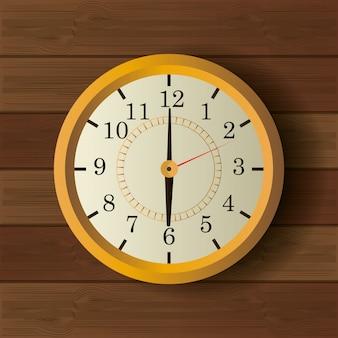 時間時計のビンテージデザイン