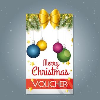 Подарочная карта подарочного подарка на рождественский подарок