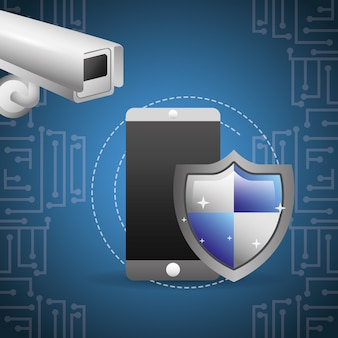 Смартфон защита экрана камера наблюдения