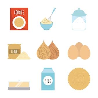 自家製の食品デザイン