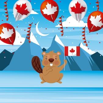 Канадские ледовые горы
