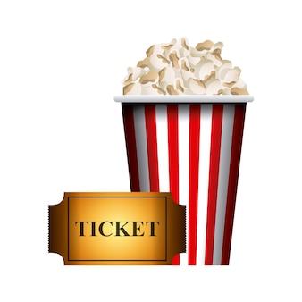 Поп-кукуруза и билет в кино