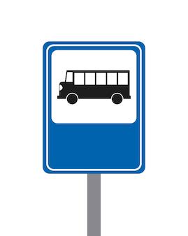 Концепция автобуса изолированный дизайн