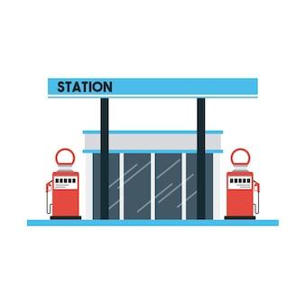 ガソリンスタンド設計