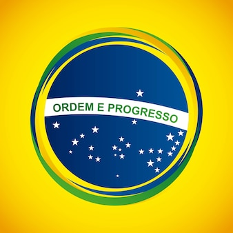 Дизайн бразильской марки
