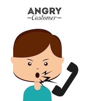 Сердитый клиент