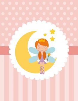 かわいい妖精キャラクター
