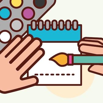 グラフィックデザインコンセプト