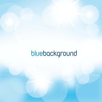 明るいベクトルイラストの青い背景