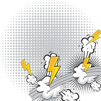 漫画の爆発