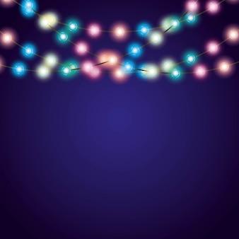 クリスマスライトデコレーションのインストール