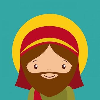 Значок святого джозефа