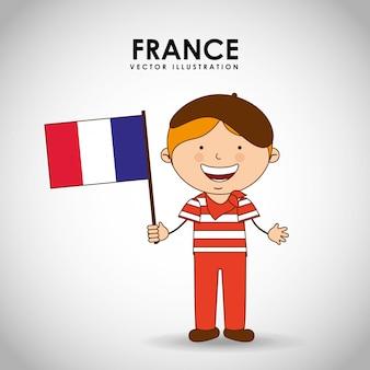 フランスの子供
