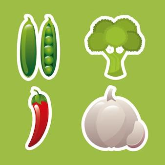新鮮な農産物