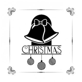 メリークリスマスの装飾