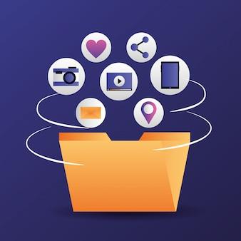 Социальные медиа цифровые