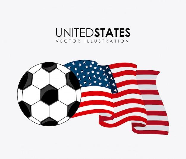 スポーツデザイン、白背景ベクトル図