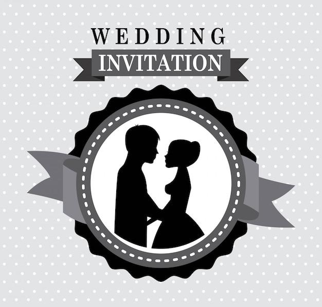 点在した背景ベクトルイラスト以上の結婚式のデザイン
