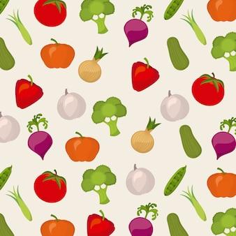Дизайн овощей