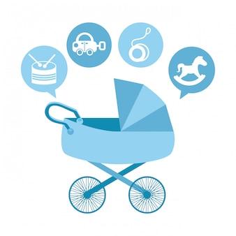 赤ちゃんのデザイン
