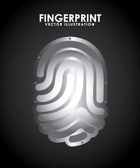 指紋デザイン