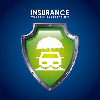 Значок страховки