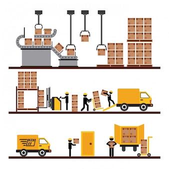 商品の輸送