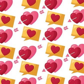 バレンタインの日カード