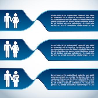 家族のインフォグラフィック