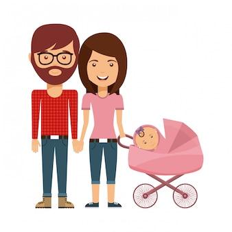 幸せな家族