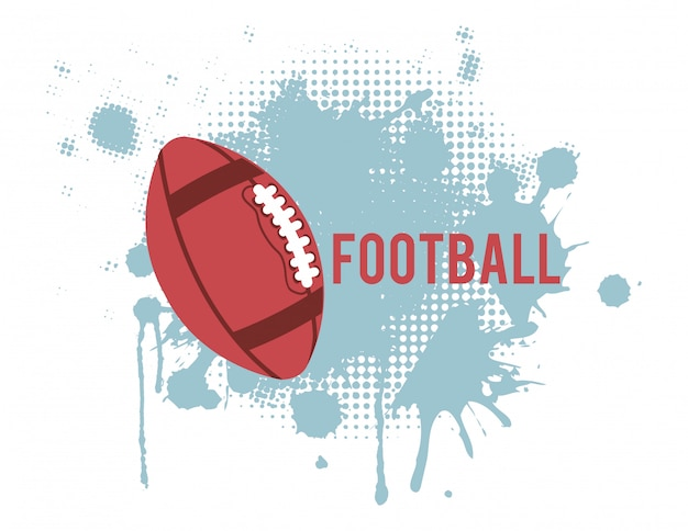 Американский футбол дизайн